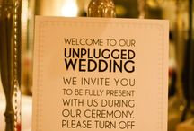Unplugged Wedding Verbiage / by Blossom Blue Photography