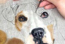 portrety zwierzay