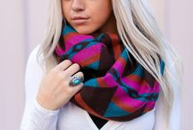 Scarves / Knit chunky scarves, infinite scarves, traditional plaid scarves, blanket boho scarves, hand knit oversized scarves, ponchos, cozy wraps and more.