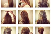 Easy Look Ideas- Hair