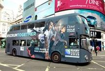 Rugby World Cup brand campaigns / Marketing activity, including videos, digital, ads, print, experiential and OOH, from both brands and official sponsors/partners of the global rugby tournament. / by Brand Republic