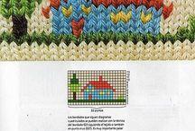 Modele  de tricotat pe bluzite