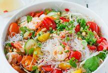 Salade nouilles