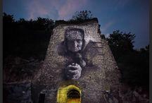 THE GOLDEN MINE / LA MINIERA D'oro di Romolo Belvedere con la partecipazione di #Luis Gomez L'OPERA La memoria storica e identitaria del luogo col quale Romolo Belvedere si presta ad interagire è di grande importanza per gli abitanti di Marcellina e San Polo dei Cavalieri.