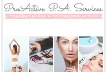Beauty & Lifestyle Communications Agency / www.proactivepaservices.com / by Nicolle French