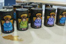 velas talladas