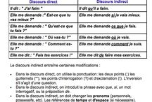 discours indirect