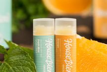House Blend Organics Lip Balms / Organic Lip Balms - House Blend Organics available at gethouseblend.com