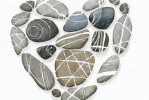 Obrázky z kamínků