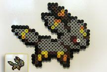 Perles à repasser Hama (Pokemon) - Des Miettes Dans Mon Clavier
