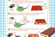 Barres chocolaté / céréales