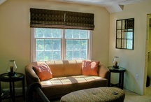 WINDOW TREATMENTS / Original window treatments designs and creations by Debbe Daley / by Debbe Daley