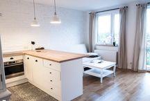 Kitchen+room