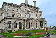 Newport, Rhode Island - City on the Water / #Newport #Rhodeisland is one of the most interesting, beautifully located cities in the #USA! #travel #photos  #mansions #beaches #hiking #tours