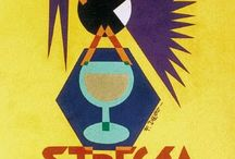 Fortunato Depero graphic works for advertising