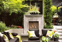 Outdoor Living Spaces by Benjamin Rugs and Furniture / Make the outdoors an extension of your living space.  Create an inviting and relaxing space.