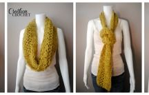 Infinity scarfs: How to wear / How many awesome ways to out rock the Infinity Scarf. I absolutely LOVE Infinity scarfs xoxo