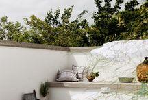 case cortile, veranda