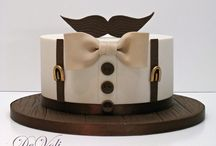 Gateau moustache