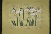 Colleen's Botanical Art / The plants in my nursery, The Blooming Artichoke Herbary, inspire me with my art, but so do plants in many other locations.  That inspiration is expressed with my textile art...bring the garden inside!