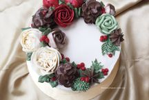 Cake decorating / by Brittany Angell