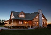 My log cabin...if I had one.