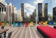 Client - Pod 51 / Sights and scenes from the vibrant and mod 51st Street NYC Hotel.