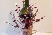 Wine Bottle Decoration Ideas / Wine Bottle Decoration Inspiration