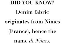 Interesting facts / Interesting facts from the history of fashion.
