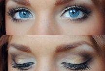 makeup og hår / makeup og hårstil