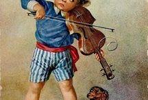 violin and...