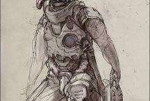 Characters Male Sci Fi