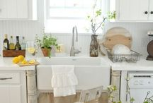Spring Has Sprung / Beautiful spring inspired interiors.