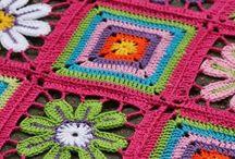 mantas de crochet