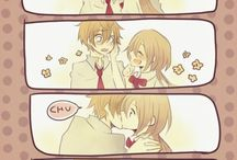 Anime & Cartoon Romance