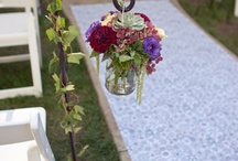 Wedding ceremony path Decoration