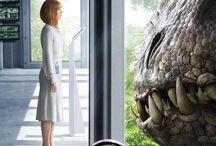 Jurassic world en jurassic park