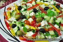 saladas diversas