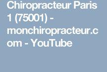 chiropracteur Paris - youtube - monchiropracteur.com