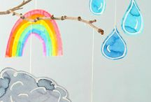 Weather for kids / Fun activites and crafts that help kids learn about weather.