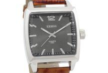 ERHOS - Fashion Watches Collection Men 2014/15 / Os homens também tem acesso a moda Erhos e a relógio com o estilo do homem moderno.