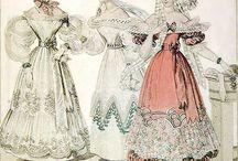 1821-1830 Fashion Women