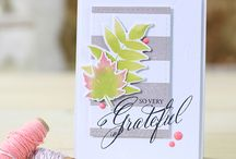 cards I adore:  fall inspired / by Amy Tsuruta
