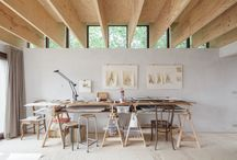 Plywood, Wood and White