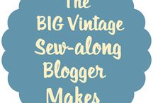 Big Vintage Sew-along blogger makes / As part of the Big Vintage Sew-along sewing bloggers all over the UK are making vintage patterns to help raise funds and awareness for The Eve Appeal. Take a look at their fantastic makes here! Why not join in yourself? Find out more at www.vintagesewalong.co.uk