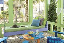 My porch / by Donna Kirkland