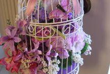 Le Rose di Ivana / Composizioni con rose di carta crespa, tutte esclusive e profumate alla rosa!!!