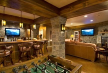 game ~ on / the man cave ~ the family room ~ a place 2 have fun