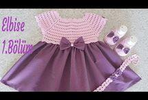 yazlık Bebek elbise