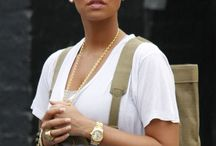 AMBER ROSE / The Queen of bald glam